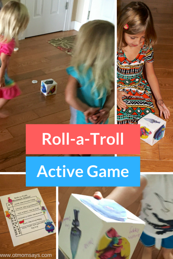 Roll-a-Troll game