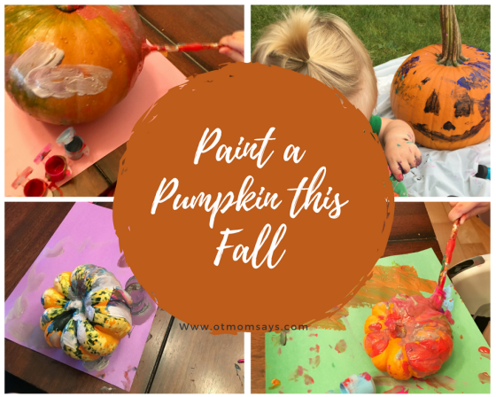 Paint a Pumpkin this Fall